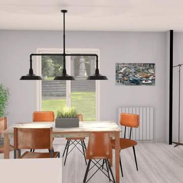 Décoration et aménagement intérieur de logement neuf dans la région de Toulouse