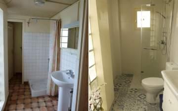 Rénovation et aménagement de salle de bain.