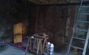 Rénovation et aménagement de cuisine et salle à manger.