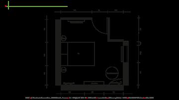 Décoration et aménagement d'une chambre.